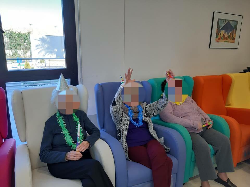 Sillones relax BASIC en residencia de mayores